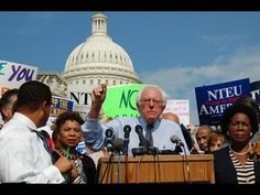 "Bernie Sanders - The Only White Guy to Show Up ""Lynching by laptop""  Where was Pres. Clinton and Hillary?  Please Listen!!"