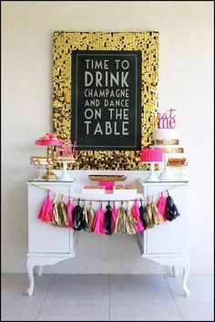 garland table scape