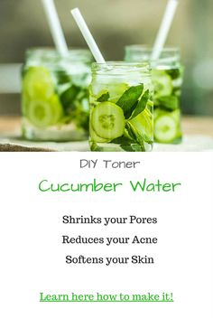 Using a toner helps remove any leftover buildup of dirt that your cleanser could not get to. It is a necessity for people with oily skin because it helps shrink the pores, restores the pH balance of your skin, adds a layer of protection, and creates the perfect base upon which the moisturizer can be applied. Here's the toners: Apple Cider Vinegar, Mint Leaves, Lemon Juice + Peppermint Tea, Aloe Vera, Cucumber