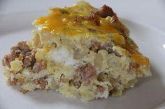 Mix and Match Mama: Sausage & Potato Frittata