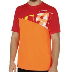 Arne T-Shirt Men orange/red