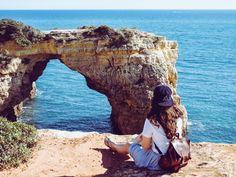 Portugal_algarve_praia da albandeira @Lovelyforliving
