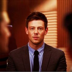 Cory Monteith as Finn Hudson, Glee. I can't believe you're gone baby.