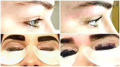 BEAUTY: LVL LASHES AND BROWS AT WOODLANDS BEAUTY CLINIC - BALTIC TRIANGLE   good golly miss hollie