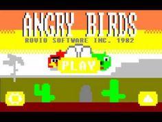 Se Angry Birds fosse um jogo de computador dos anos 80...