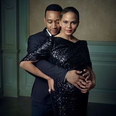 John Legend and Chrissy Teigen Photography by Mark Seliger's 2016 Oscar Party Vanity Fair. Celebrity Portraits, Celebrity Couples, Celebrity Babies, Couple Photography, Fashion Photography, Maternity Photography, Glamour Photography, Photography Magazine, Editorial Photography