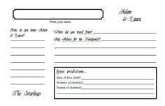 fill in the blank guest books