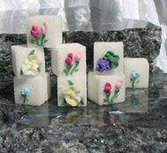 All sorts of Decorated Sugar Cubes - Southern Serenade