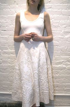 project alabama clothes | ... embroidery and applique work on an American Apparel dress like this