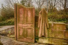 The Red House Door
