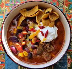 20 Minute Taco Soup -scrumptious, hearty and nourishing!