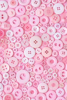 Pink Buttons by Pixel Stories   Stocksy United