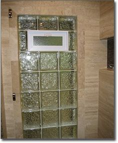 Glass Block Bathroom Windows In St. Louis, Privacy Glass Windows