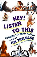 cover of Hey! Listen to This  consistent mistake made by parents and teachers is the assumption that a child's listening level is the same as his or her reading level. Until about eighth grade, that is far from true; early primary grade students listen many grades above their reading level. This means that early primary grade students are capable of hearing and understanding stories that are far more complicated than those they can read themselves.