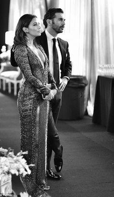 Eva Longoria and fiance Jose Antonio Baston - SAG Awards 2016