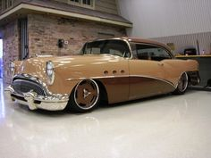 Troy Trepanier's G54 '54 Buick with full Mercedes driveline!