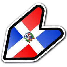 "DOMINICAN REPUBLIC - 4"" Flag JDM Wakaba Shoshinsha Mark New Driver Badge Leaf Sign Car Bumper Stickers Decals Adelia Co http://www.amazon.com/dp/B016HCO1IQ/ref=cm_sw_r_pi_dp_qqohwb1ZNAEKW"