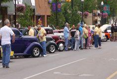 Back to the Bricks Classic Car Tour Visits Cadillac