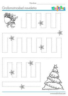 Preschool Christmas, Noel Christmas, Christmas Activities, Christmas Crafts For Kids, Preschool Learning, Kindergarten Worksheets, Preschool Activities, Teaching Kids, Christmas Worksheets
