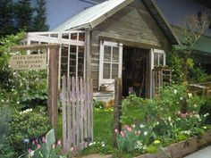 Abri de jardin bois, pvc, toit plat | Abris de jardin, Refuges et ...
