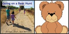 Strings, Keys and Melodies: Finger Play Fun Day: Going on a Bear Hunt