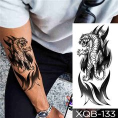 Tiger Skull, Wolf Skull, Bird Skull, Fake Tattoo, Feather Tattoos, Temporary Tattoo, Geometric Wolf, Forest Tattoos, Body Makeup
