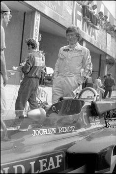 GP of Italy, Monza Jochen Rindt (Photo by Blick/RDB/ullstein bild via Getty Images) Jochen Rindt, Lotus F1, Gilles Villeneuve, Racing Events, F1 Drivers, F 1, Formula One, Courses, Marilyn Monroe