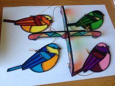 Resultado de imagen para bird stained glass