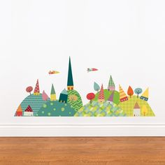 Journey in the Countryside - Kids Wall Decal - ADzif