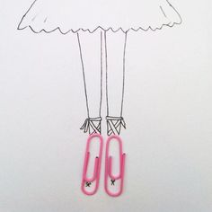 objects around drawing tiny turn quirky drawings creative artwork into days them things object