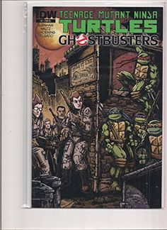 TMNT Ghostbusters Retailer Incentive #1 Variant Comic Book from 2014 in VF/NM Condition. Teenage Mut @ niftywarehouse.com #NiftyWarehouse #Geek #Horror #Creepy #Scary #Movies