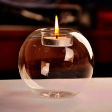 Portable Hot Sale Classic Crystal Glass Candle Holder Wedding Bar Party Home Decor Candlestick #80847(China (Mainland))
