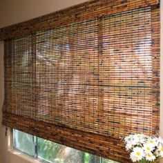 Bamboo blinds, love!   $302. for four blinds...can you believe it's free shipping!!