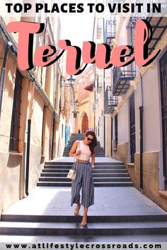 Have you ever heard the romantic story of Diego and Isabel( Spanish Romeo and Juliette)? Do you like vibrant Mudéjar architecture? Or are you into the archaeological finds and the dinosaurs? – There's one city in Spain you simply need to visit - Teruel. Check top things to de in this amazing Spanish hidden gem. #travel #spain #teruel | Spain Travel Things to do | Teruel Things to do | Europe off the beaten path