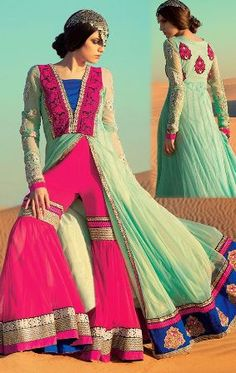 Pakistani Anarkali Suits: Amazing Anarkali Patterns for girls