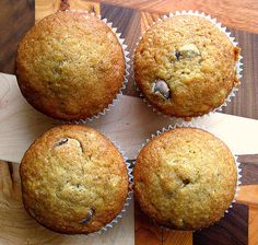 Chocolate Chip Banana Bread Muffins.