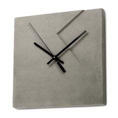 Concrete Imprint Wall Clock  By Marit Meisler