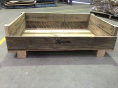 Dog Bed. Aware Industries skilled staff are now making furniture from recycled furniture from recycled timber pallets. Visit our website today for further details and to see other items available www.awareindustries.com.au