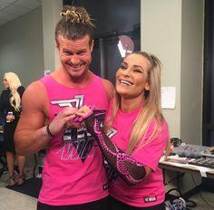 Dolph Ziggler and Natalya Wwe Total Divas, Nxt Divas, Beth Phoenix, Theodore James, Best Wrestlers, Wwe Women's Division, Dolph Ziggler, Jeff Hardy, Wwe Tna
