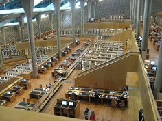 Alexandria library - every book you can imagine and more.