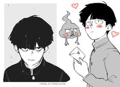 Manga Anime, Anime In, Fanarts Anime, Mob Psycho 100 Wallpaper, Character Art, Character Design, Mob Psycho 100 Anime, Mob Physco 100, Wallpaper Animes