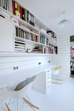Heath Cottage office space - scandinavian - Home Office - Scotland - Brown + Brown Architects Home Office Space, Home Office Design, Home Office Decor, House Design, Office Designs, Office Ideas, Workspace Design, Office Workspace, Loft Office