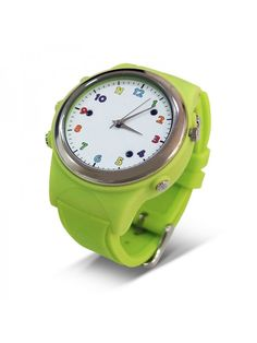 Kids Watch Phone With GPS Tracker (Green) Led Watch, Android Watch, Waterproof Watch, Smart Watch, Watches, Phone, Green, Kids, Young Children