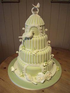 Ideas For Bird Cage Wedding Cake Design Birdcage Wedding Cake, Wedding Cakes, Camo Wedding, Fancy Cakes, Cute Cakes, Gorgeous Cakes, Amazing Cakes, Fondant Cakes, Cupcake Cakes