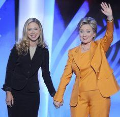 Chelsea & Hillary Clinton