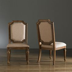 St. Joseph Weathered Patina Finish Side Chairs (Set of 2) - (orig $454) $314.99 on Overstock