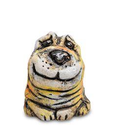 Фигурка «Пес Смайл» шамот KK-469      Страна производства: Россия;   Материал: шамот;   Длина: 7,5 см;   Ширина: 6,5 см;   Высота: 8,5 см;   Вес: 0,23 кг;          #chamotte #ceramics #шамот #керамика #собака
