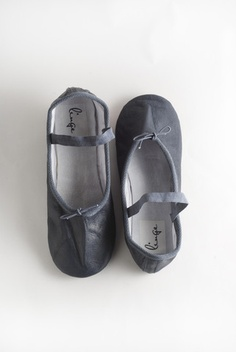 Totally love these - Navy Ballet Shoe @ Linge $59