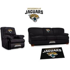 Use this Exclusive coupon code: PINFIVE to receive an additional 5% off the Jacksonville Jaguars Microfiber Furniture Set at SportsFansPlus.com