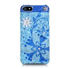 Blossom Flower Crystal iPhone 5 Cases  #Swarovski #iPhone5case  http://www.playbling.com/en/iphone-5/blossom-flower-crystal-iphone-5-cases.html